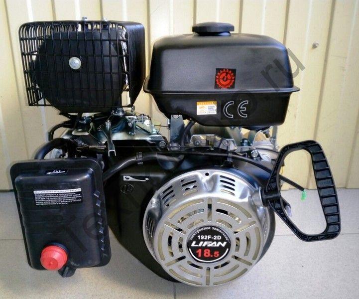 Двигатель Lifan 192F-2 D25 (18,5 л. с.) с катушкой освещения 3Ампер (36Вт)
