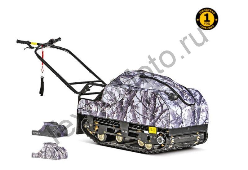 Мотобуксировщик SnowDog Compact C-R7E